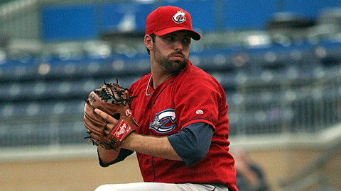 Justin Germano is 86-69 with a 3.81 ERA over 12 Minor League seasons.