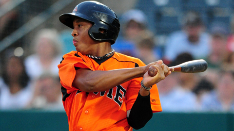 Jonathan Schoop has six homers and 15 RBIs this month.