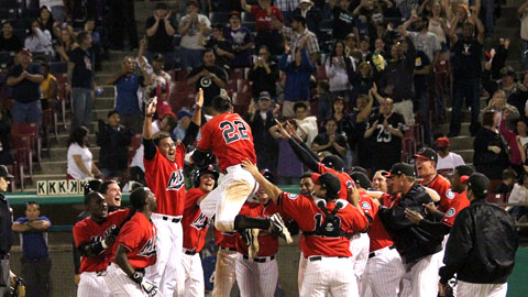 Action like walk-off grand slams kept MiLB fans enthused in 2012.